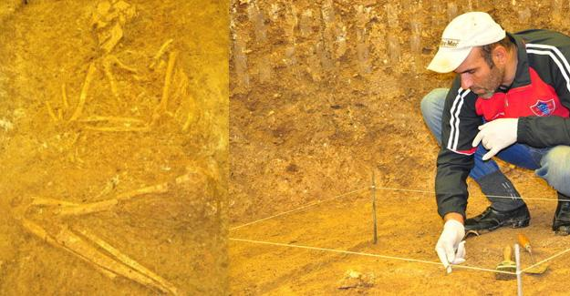 Kastamonu'da 3 bin 500 yıllık mezar bulundu