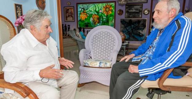 Mujica'dan Fidel'e veda mektubu