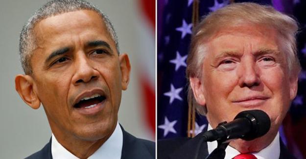 Obama Trump'la Beyaz Saray'da bir araya geldi