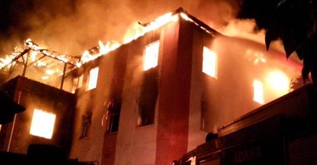 Öğrenci yurdunda yangın: 12 kişi hayatını kaybetti