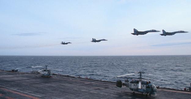 Rusya'dan Suriye'deki IŞİD ve El Nusra hedeflerine operasyon