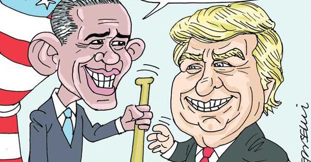Sefer Selvi, Obama ile Trump arasındaki devir-teslimi çizdi