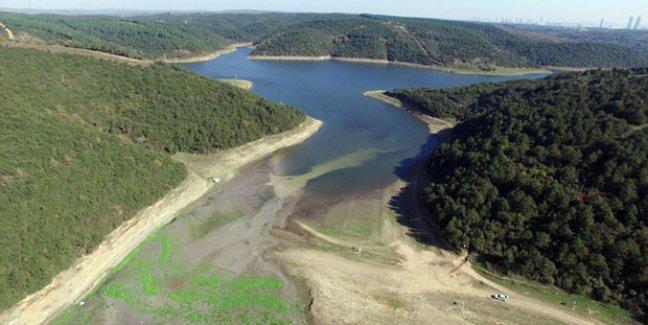 Üç aylık rezervi kalan İstanbul'da baraj doluluğu yüzde 37.6