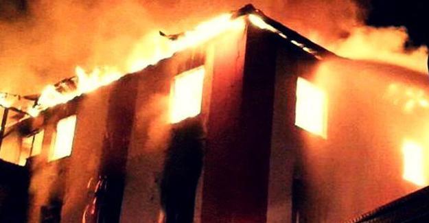 Aladağ'ın Yurt Müdürü: Yangın söndürme tüpü yoktu