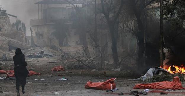 BM temsilcisi: Halep dev bir mezarlığa dönüşebilir