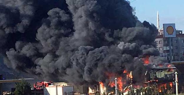 Bursa'da yangın: 1 ölü 2 yaralı