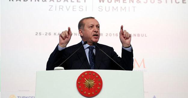 Erdoğan: Bu millet darbeyi kendi lehine darbeye dönüştürdü