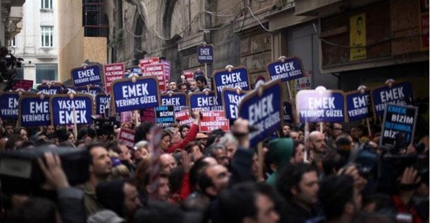 Seyirciden Emek'in yıkımıyla yapılan Grand Pera'ya boykot çağrısı