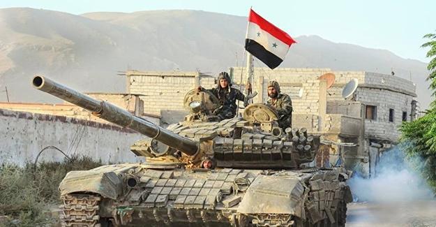 Suriye ordusu Şam yakınlarındaki kentin kontrolünü ele geçirdi