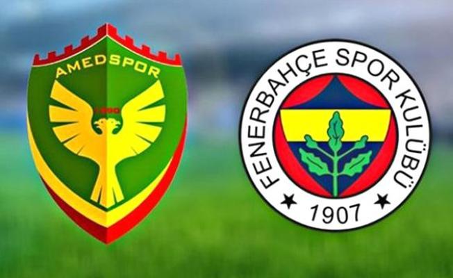 Amedspor taraftarı Fenerbahçe maçına alınmayacak