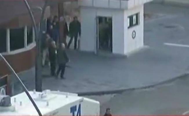 Antep Emniyet Müdürlüğü önünde çatışma