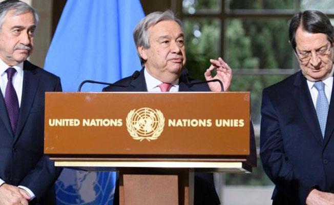 BM Genel Sekreteri Guterres: Umuyorum ki Kıbrıs umudun sembolü olur