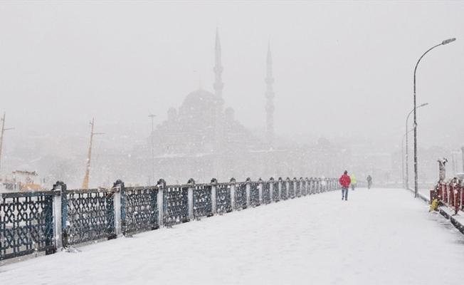 İstanbul'da okullara kar tatil