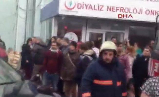 İstanbul Şişli Etfal hastanesinde yangın