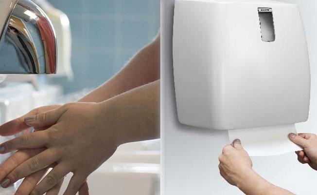 Sıcak hava üfleyen kurutucu mu, kağıt havlu mu kullanmalı?
