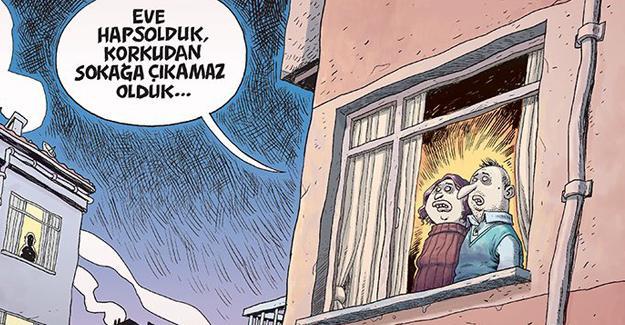 Uykusuz Türkiye'nin 'tedirginli'ğini çizdi
