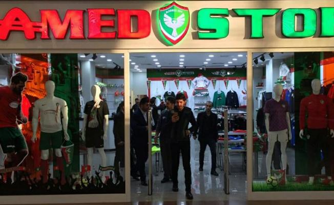 Amedspor'un ilk store mağazası açıldı