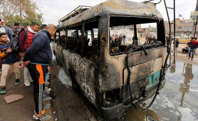 Bağdat'ta bomba yüklü araçla saldırı: Çok sayıda ölü var