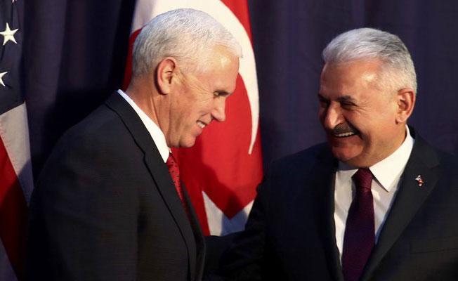 Başbakan, ABD Başkan Yardımcısı bir araya geldi