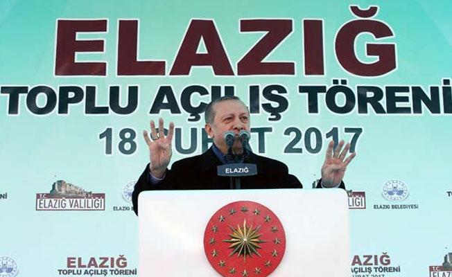 Erdoğan: Gücü tek kişide topluyoruz