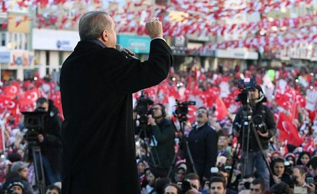 Erdoğan: Turgut Özal'ın hayalini gerçekleştirmek üzere yola çıktık