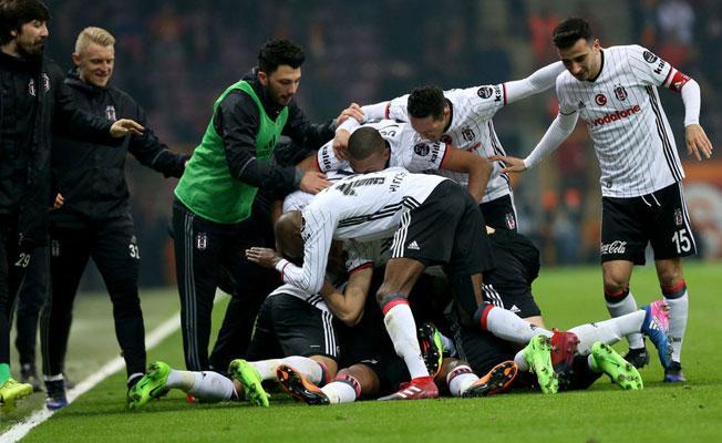 Galatasaray- Beşiktaş maçı sona erdi