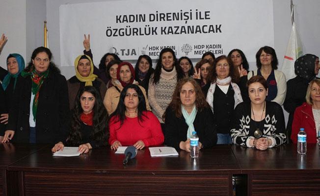 HDP, HDK ve DBP 8 Mart deklarasyonunu açıkladı