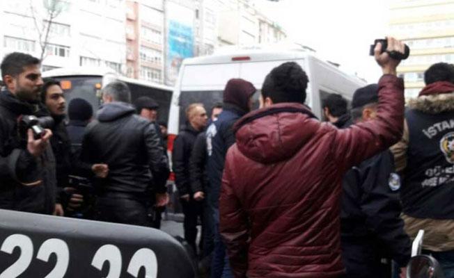 HDP ve HDK'nin açıklamasına izin verilmedi: 3 gözaltı var