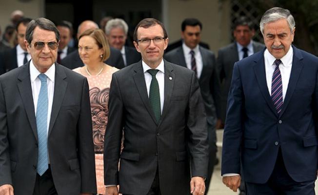 Kıbrıs müzakerelerinde masa dağıldı