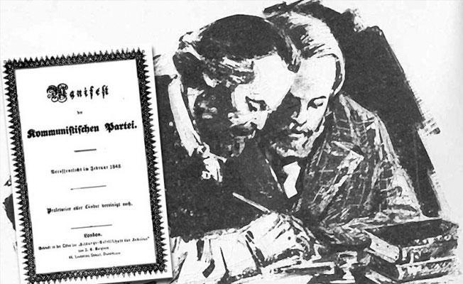 Komünist Manifesto 169 yaşında