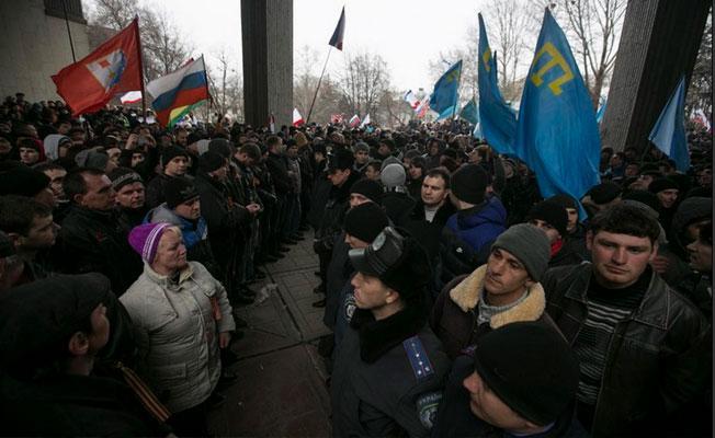 Kremlin'denBeyazSaray'a'Kırım' yanıtı: İade etmeyeceğiz