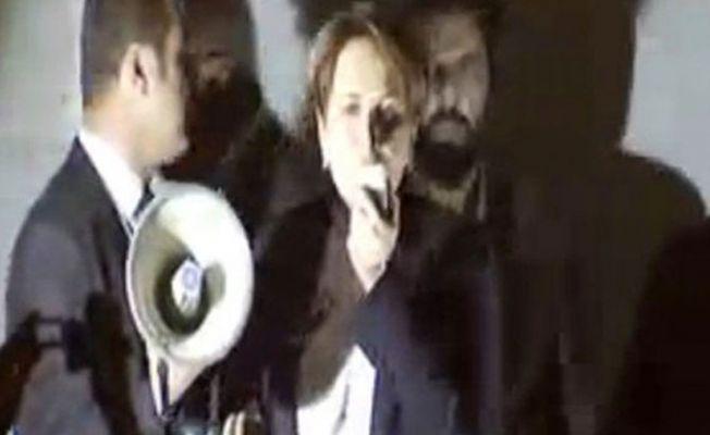 Meral Akşener'in programında otel elektriği kesti, polis salonu bastı