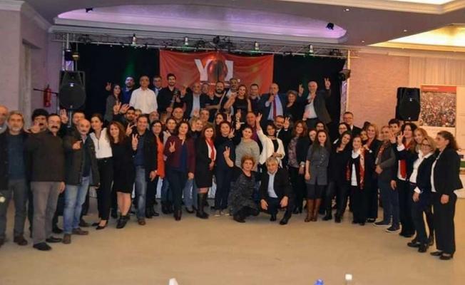YOL TV ile dayanışma etkinliğinde 'Hayır' çağrısı