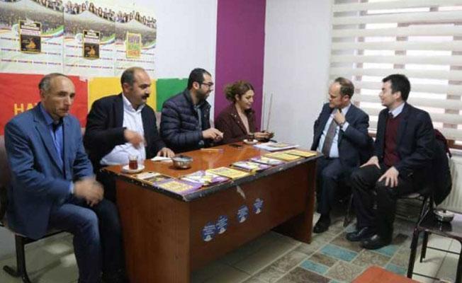 AB heyetinden HDP'ye ziyaret: 'Mücadelenize büyük saygım var'