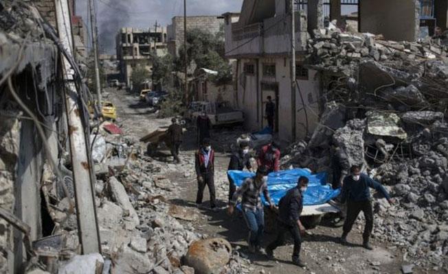 ABD: Musul'da sivillerin öldüğü binaları koalisyon uçakları vurdu