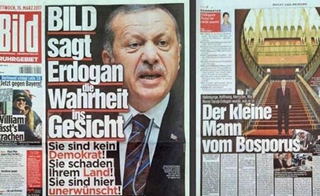 Bild gazetesinden Erdoğan'a: Demokrat değilsiniz, burada istenmiyorsunuz