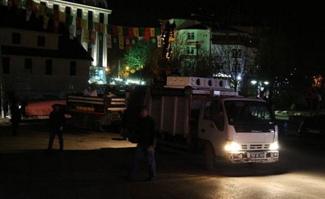 Dersim'de kayyım Newroz alanının elektriğini kesti