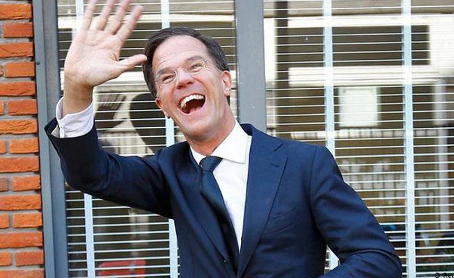 Hollanda'da seçimin galibi Rutte