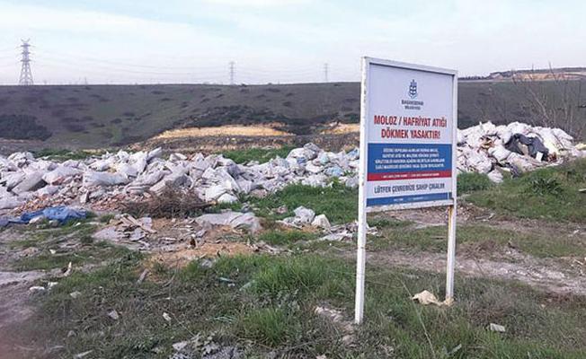 İstanbul'un en önemli su kaynağının çevresi hafriyatlar nedeniyle çöplüğe döndü