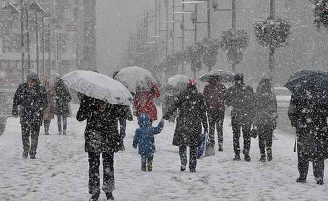 Meteoroloji'den 28 il için kar yağışı uyarısı