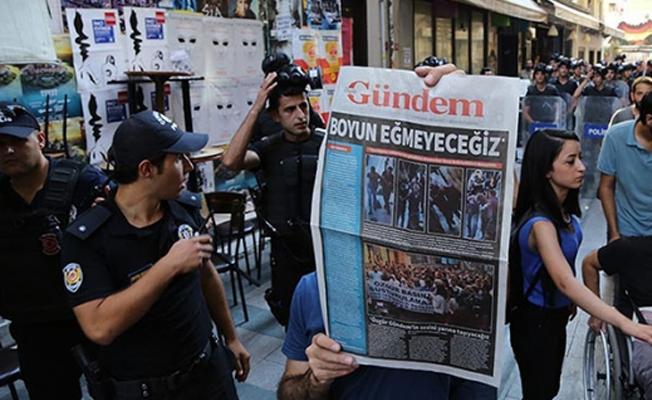 Özgür Gündem davasında art arda ceza
