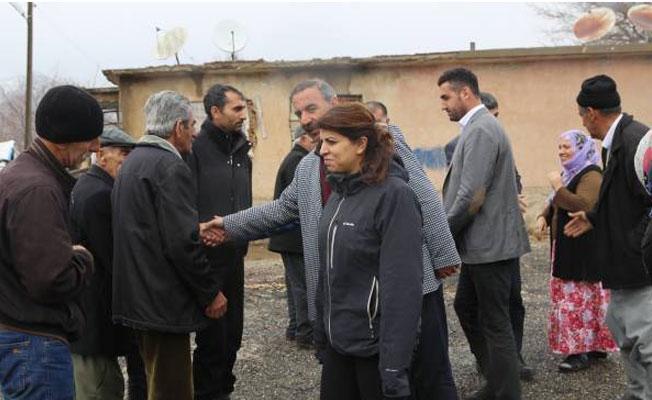 Yasağın ardından Lice köyleri ziyaret edildi