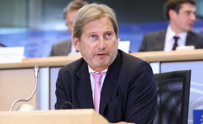 AB Komiseri Hahn: Türkiye'yi tartışmanın zamanı geldi
