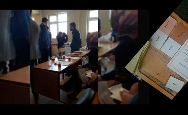AKP'li vekil 'okul bastı sahte pusulaları sandığa attı' iddiası