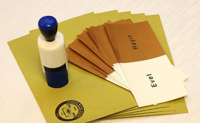 Anayasa değişiklik referandumu: Seçim ihalleri