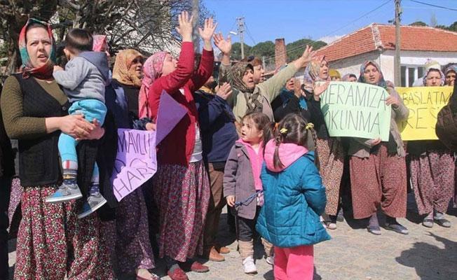 Çamavlu köylüleri RES'çilere ÇED toplantısı yaptırmadı