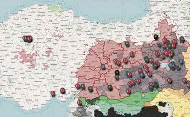 Mühürsüz oy haritası yayınladı: Kürt illeri ilk sırada