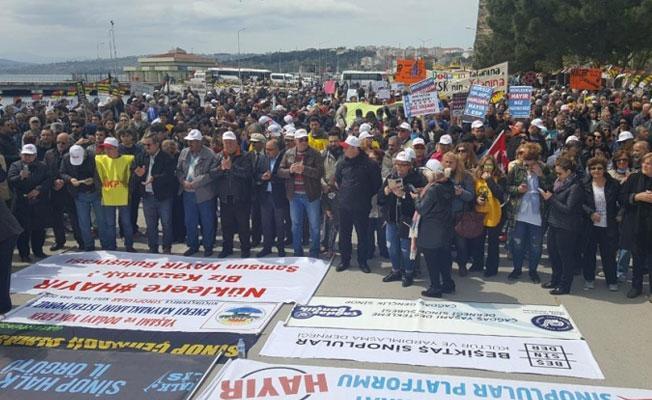 Nükleer karşıtı eylem: Sinop nükleer santral istemiyor
