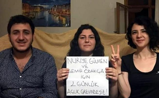 3 öğrenci, Gülmen ve Özakça'ya destek için açlık grevine başladı