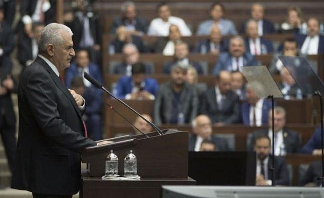Binali Yıldırım AKP Grup Başkanı seçildi